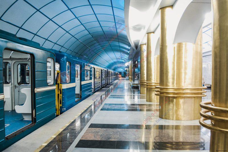 Проектирование вестибюля м. «Фрунзенская» в Санкт-Петербурге